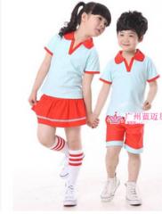 幼儿园校服 运动服 套装 货号100.L376 110CM  男红色