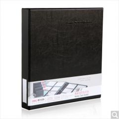 得力(deli)5797 活页名片册(容量480张) 黑色 1本装 货号100.ZD832