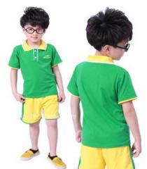 小学校服 幼儿园园服校服 运动服 套装  货号100.L378 150CM   女黄色