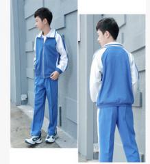 小学生男女校服 加绒 运动服 套装  货号100.L383 70CM  套装男