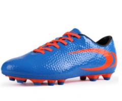 双星足球鞋男子成人室外碎钉运动鞋比赛训练球鞋 宝蓝/桔红666010 (详细尺码请联系客服) 货号100.C690