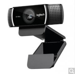 罗技(Logitech)C922 PRO高清网络主播摄像头直播美颜C920升级  货号100.X838