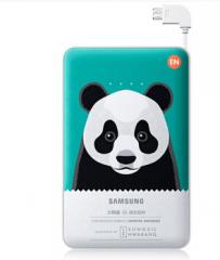 三星 充电宝移动电源 原装便携快充11300mAh  支持小米/华为/苹果/oppo/vivo 大熊猫版 货号100.L397