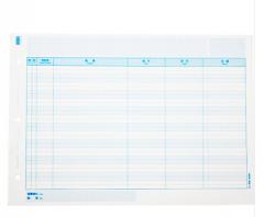 西玛 A4总分类账簿 明细账本 多栏明细账 297*210mm 1000份/箱 西玛总分类账 1箱 货号100.C707
