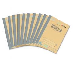 凯萨(KAISA)拼音本学生写字本汉语生字练习本20页10本装 36K加厚80g纸KSP0013 货号100.XY25