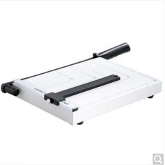 得力(deli) 8014 钢质切纸机/切纸刀/裁纸刀/裁纸机 300mm*250mm 货号100.ZD886