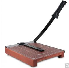 得力(deli) 8004 木质切纸机/切纸刀/裁纸刀/裁纸机 300mm*250mm 货号100.ZD887