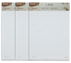 广博(GuangBo)3本装16K30张方格信纸本子草稿纸 货号100.XY33