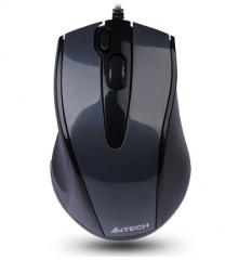 双飞燕(A4TECH) N-500F 有线鼠标 办公鼠标 USB鼠标 笔记本鼠标 黑色 货号100.S869