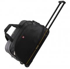 爱华仕(OIWAS)拉杆包 防泼水大容量户外旅行袋 休闲运动拉杆包 货号100.XY35 黑色