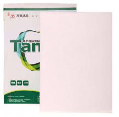 天章(TANGO)A4不干胶亮面铜版纸 背胶贴纸 电脑打印标签纸 亮面210*297mm 80张/包 货号100.XY38