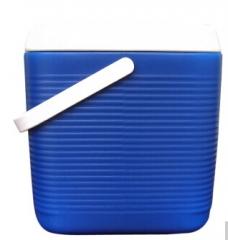安马(Amausa)车载 家用 野餐 烧烤 钓鱼保温箱 冷藏箱 20L 蓝色  货号100.S877