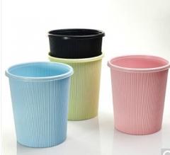伟业一选 垃圾桶 办公家用塑料卫生桶   100.S878