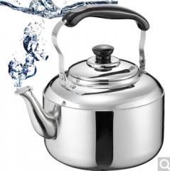 爱仕达烧水壶ASD 304不锈钢5L水壶T1505 鸣音水壶 燃气电磁炉水壶 货号100.C737