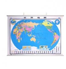 世界地图(无拼缝挂图)1.5米*1.1米  货号100.X882