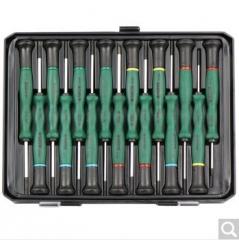 世达(SATA)09317 15件综合微型螺丝批 手机维修拆机工具笔记本螺丝刀组合起子组套  货号100.X884