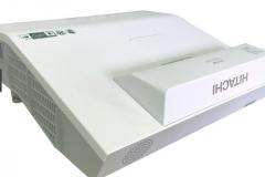 日立反射式短焦投影机HCP-A836+ 3300流明 含吊装 货号100.C748GD