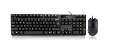现代(HYUNDAI)HY-MA75 有线USB接口键鼠套装 黑色  货号100.S1011