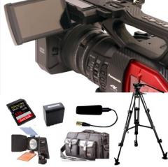 松下(Panasonic)AG-DVX200MC 4K专业摄影机广播级套装  货号100.S1013