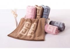 金号毛巾舒特曼S1206紫灰两色 货号100.LS5