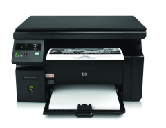 惠普 LaserJet Pro M1136/CE849A 黑白激光一体机 A4 黑色 货号100.S1083