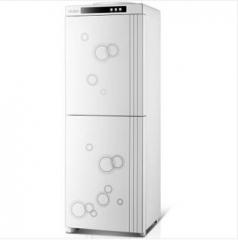 海尔(Haier)饮水机立式饮水机家用办公温热型YR1561双开门智能恒温 YR1561温热型  货号100.X896