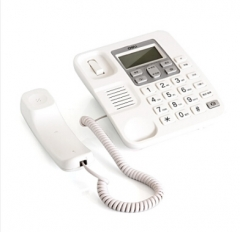 现货次日达 得力2.4G数字无绳电话机791保真高保密通话效果座机 商务办公使用 货号:100.ZL22