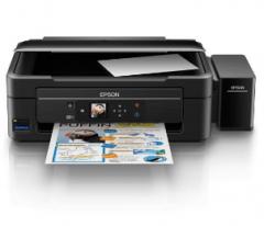 非现货7日达 爱普生(EPSON)L485墨仓式智能无线打印机 家用彩色喷墨一体机货号100.S1181