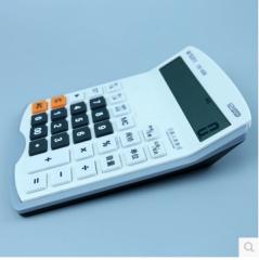 现货次日达  晨光计算器CS-007 财神语音型(中)银色 货号100.CF69