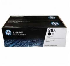 HP硒鼓88A黑色CC388AD二支套装   货号:100.ZL32GD