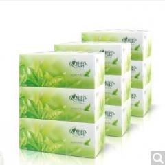 心相印抽纸 茶语系列盒抽取式面巾纸 (3盒/提) 货号100.X904