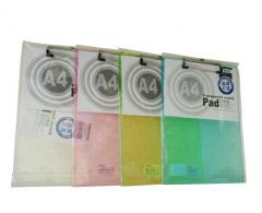 现货次日达 晨光A4竖式透明记事板ADM94512颜色随机 货号100.XY50 1个