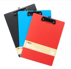 现货次日达 晨光A4 PP发泡板夹黑色ADM95107 货号100.XY56 红色(96个)