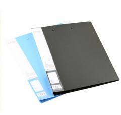 现货次日达 晨光A4新锐派单强力文件夹蓝ADM95087 货号100.XY85