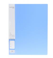 现货次日达 晨光A4新锐派单长押文件夹蓝ADM95090 货号100.XY88