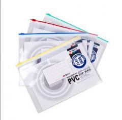 现货次日达 晨光A4拉边袋PVC透明ADM94504 货号100.XY94