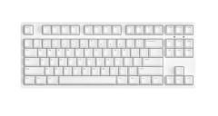 非现货7日达 ikbc c87 樱桃轴机械键盘 87键原厂Cherry轴 白色 黑轴 货号100.S1217