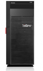 非现货7日达 联想(ThinkServer)TS560塔式服务器E3-1220v6冷盘 单主机 16G内存/2*4T硬盘 货号100.S1225