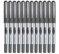 非现货 7日达 齐心(COMIX)RP602 子弹头型直液式签字笔中性笔走珠笔0.5mm 12支装 黑色