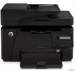 非现货7日达 惠普(HP)LaserJet Pro MFP M128fn 黑白激光多功能一体机 货号100.S1302
