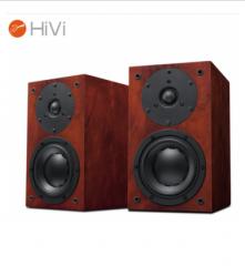 惠威(HiVi)D1.1 音响 音箱 书架箱 原木皮高保真HiFi木质台式电脑客厅电视音响音箱 货号100.XY99