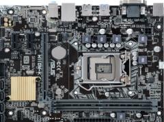 华硕ASUS H110M-K DDR4 主板(Intel H110/LGA 1151)货号100.W2