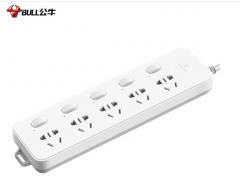 公牛(BULL)GN-312 插座/插线板/插排/排插/接线板/拖线板 5位分控全长3米 货号100.XY126