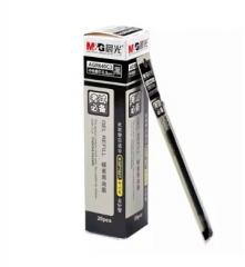 晨光陶瓷球珠中性替芯AGR640C3黑0.5  12支/盒货号:100.ZL102