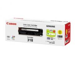 佳能(Canon) 打印机硒鼓 CRG 318 Y 黄色  货号:100.ZL118