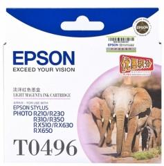 爱普生 EPSON 墨盒 T0496 (淡洋红)  货号:100.ZL120
