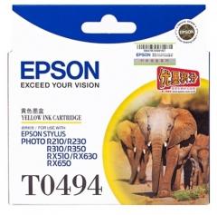 爱普生 EPSON 墨盒 T0494 (黄色)  货号:100.ZL122