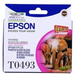 爱普生 EPSON 墨盒 T0493 (洋红色)  货号100.ZL123
