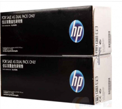 惠普(HP) 打印机硒鼓88AD 双支装 黑色 货号100.ZL132