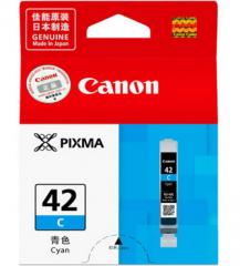 佳能 CLI-42C 墨盒 (适用机型PRO-100) 青色 货号100.ZL135